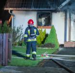 Pożar budynek mieszkalny Kamionka gm. Śliwice 3.05.2018-20