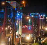 Pożar budynek mieszkalny Kamionka gm. Śliwice 3.05.2018-24