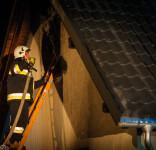 Pożar budynek mieszkalny Kamionka gm. Śliwice 3.05.2018-26