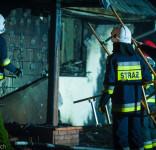 Pożar budynek mieszkalny Kamionka gm. Śliwice 3.05.2018-27