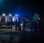 Pożar budynek mieszkalny Kamionka gm. Śliwice 3.05.2018-29
