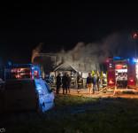 Pożar budynek mieszkalny Kamionka gm. Śliwice 3.05.2018-3