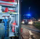 Pożar budynek mieszkalny Kamionka gm. Śliwice 3.05.2018-32