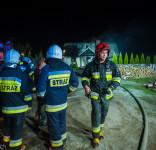 Pożar budynek mieszkalny Kamionka gm. Śliwice 3.05.2018-33