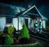 Pożar budynek mieszkalny Kamionka gm. Śliwice 3.05.2018-34