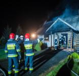 Pożar budynek mieszkalny Kamionka gm. Śliwice 3.05.2018-35