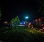 Pożar budynek mieszkalny Kamionka gm. Śliwice 3.05.2018-37