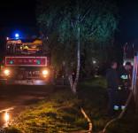 Pożar budynek mieszkalny Kamionka gm. Śliwice 3.05.2018-4