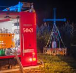 Pożar budynek mieszkalny Kamionka gm. Śliwice 3.05.2018-5
