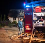 Pożar budynek mieszkalny Kamionka gm. Śliwice 3.05.2018-7