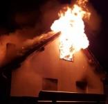 Pożar budynek mieszkalny Kamionka gm. Śliwice 3.05.2018 fot. Maciej Pliszka 2