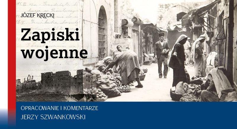 Zapiski wojenne Józef Kręcki promocja książki Raciąż 05.2018 okładka