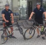 Patrol rowerowy fot. KPP Tuchola