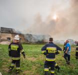 Pożar Kruszka 1.09.2018 fot. Andrzej Drelich-37