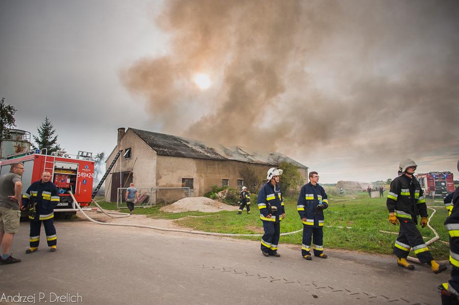 Pożar Kruszka 1.09.2018 fot. Andrzej Drelich-5