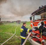 Pożar Kruszka 1.09.2018 fot. Andrzej Drelich-7