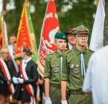 Uroczystość Pomnik Pomordowanych Tuchola Rudzki Most 2.09.2018 fot. Andrzej Drelich-1