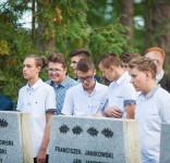 Uroczystość Pomnik Pomordowanych Tuchola Rudzki Most 2.09.2018 fot. Andrzej Drelich-10