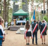 Uroczystość Pomnik Pomordowanych Tuchola Rudzki Most 2.09.2018 fot. Andrzej Drelich-14