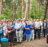 Uroczystość Pomnik Pomordowanych Tuchola Rudzki Most 2.09.2018 fot. Andrzej Drelich-15