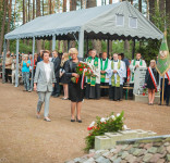 Uroczystość Pomnik Pomordowanych Tuchola Rudzki Most 2.09.2018 fot. Andrzej Drelich-27