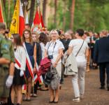 Uroczystość Pomnik Pomordowanych Tuchola Rudzki Most 2.09.2018 fot. Andrzej Drelich-3