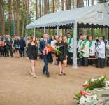 Uroczystość Pomnik Pomordowanych Tuchola Rudzki Most 2.09.2018 fot. Andrzej Drelich-30