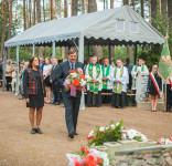 Uroczystość Pomnik Pomordowanych Tuchola Rudzki Most 2.09.2018 fot. Andrzej Drelich-32