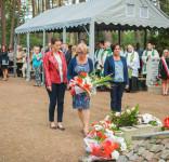 Uroczystość Pomnik Pomordowanych Tuchola Rudzki Most 2.09.2018 fot. Andrzej Drelich-33