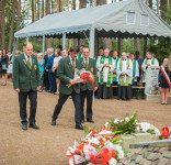 Uroczystość Pomnik Pomordowanych Tuchola Rudzki Most 2.09.2018 fot. Andrzej Drelich-38