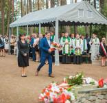 Uroczystość Pomnik Pomordowanych Tuchola Rudzki Most 2.09.2018 fot. Andrzej Drelich-40