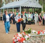 Uroczystość Pomnik Pomordowanych Tuchola Rudzki Most 2.09.2018 fot. Andrzej Drelich-42