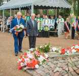 Uroczystość Pomnik Pomordowanych Tuchola Rudzki Most 2.09.2018 fot. Andrzej Drelich-46