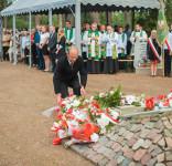 Uroczystość Pomnik Pomordowanych Tuchola Rudzki Most 2.09.2018 fot. Andrzej Drelich-47