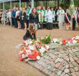 Uroczystość Pomnik Pomordowanych Tuchola Rudzki Most 2.09.2018 fot. Andrzej Drelich-49