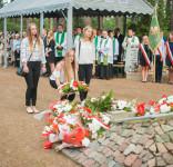 Uroczystość Pomnik Pomordowanych Tuchola Rudzki Most 2.09.2018 fot. Andrzej Drelich-50
