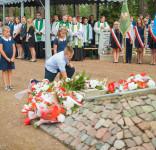 Uroczystość Pomnik Pomordowanych Tuchola Rudzki Most 2.09.2018 fot. Andrzej Drelich-51