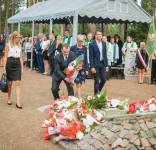Uroczystość Pomnik Pomordowanych Tuchola Rudzki Most 2.09.2018 fot. Andrzej Drelich-54