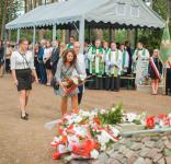 Uroczystość Pomnik Pomordowanych Tuchola Rudzki Most 2.09.2018 fot. Andrzej Drelich-55