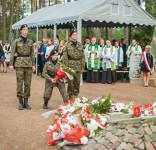 Uroczystość Pomnik Pomordowanych Tuchola Rudzki Most 2.09.2018 fot. Andrzej Drelich-57