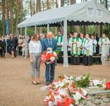Uroczystość Pomnik Pomordowanych Tuchola Rudzki Most 2.09.2018 fot. Andrzej Drelich-59