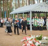 Uroczystość Pomnik Pomordowanych Tuchola Rudzki Most 2.09.2018 fot. Andrzej Drelich-60