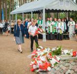 Uroczystość Pomnik Pomordowanych Tuchola Rudzki Most 2.09.2018 fot. Andrzej Drelich-61