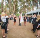 Uroczystość Pomnik Pomordowanych Tuchola Rudzki Most 2.09.2018 fot. Andrzej Drelich-66