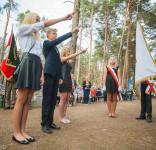 Uroczystość Pomnik Pomordowanych Tuchola Rudzki Most 2.09.2018 fot. Andrzej Drelich-67