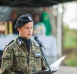 Uroczystość Pomnik Pomordowanych Tuchola Rudzki Most 2.09.2018 fot. Andrzej Drelich-70