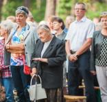 Uroczystość Pomnik Pomordowanych Tuchola Rudzki Most 2.09.2018 fot. Andrzej Drelich-72