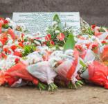 Uroczystość Pomnik Pomordowanych Tuchola Rudzki Most 2.09.2018 fot. Andrzej Drelich-73