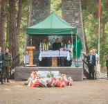 Uroczystość Pomnik Pomordowanych Tuchola Rudzki Most 2.09.2018 fot. Andrzej Drelich-74