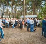 Uroczystość Pomnik Pomordowanych Tuchola Rudzki Most 2.09.2018 fot. Andrzej Drelich-77
